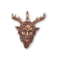 Amulet Cernunnos - bronzový