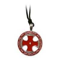 Amulet Kříž templářů