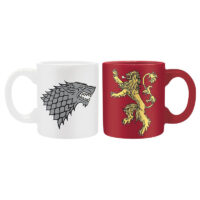 Mini hrnky Game of Thrones Stark and Lannister (2 ks)