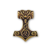 Bronzové Thorovo kladivo - Eiliv